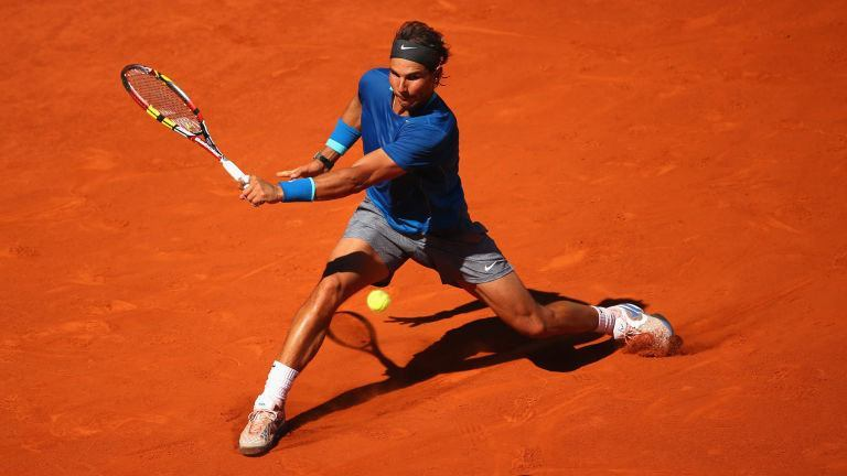 rafael nadal takes out steve johnson for 2015 madrid open