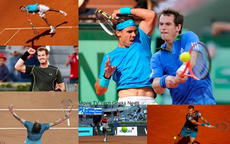 rafael nadal vs andy murray 2015 madrid open images