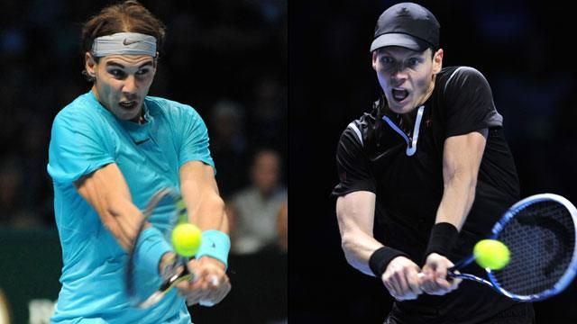 rafael nadal vs tomas berdych for 2015 madrid open semi finals