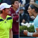 rafi nadal vs andy murray madrid open tennis 2015