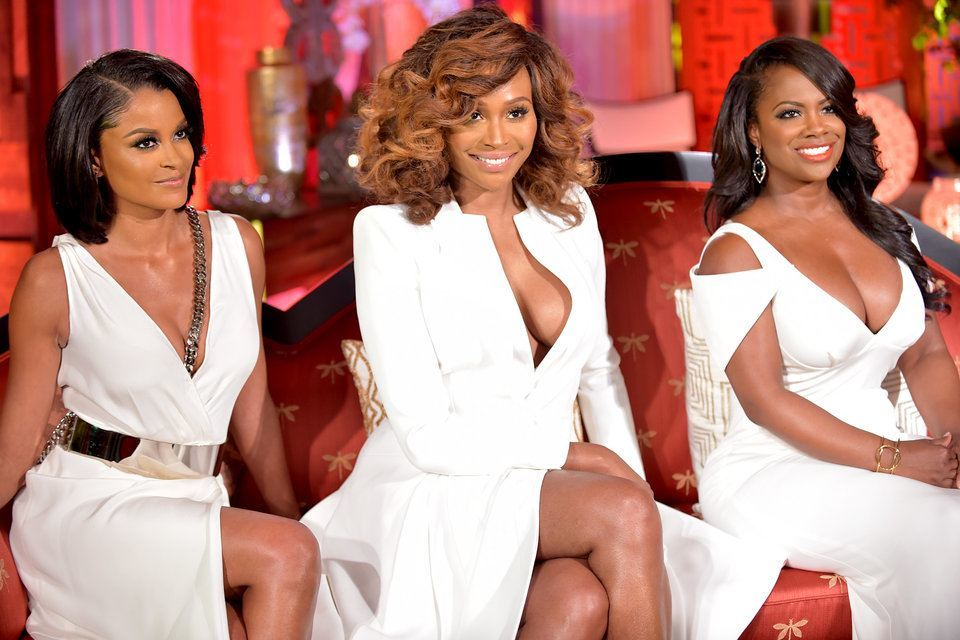 real housewives of atlanta reunion claudia and cynthia