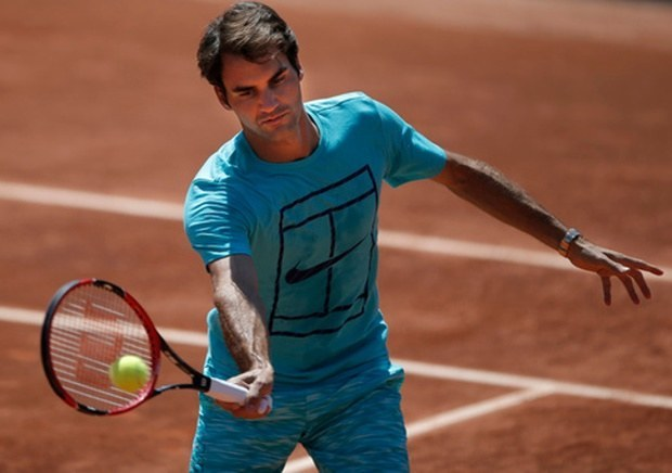 roger federer 2015 french open