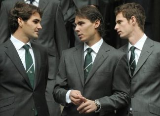 roger federer andy murray and rafael nadal kick off wednesday 2015 rome masters open