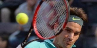 roger federer beats kevin anderson 2015 rome open
