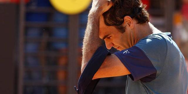 roger federer wins at 2015 rome masters open vs kevin anderson