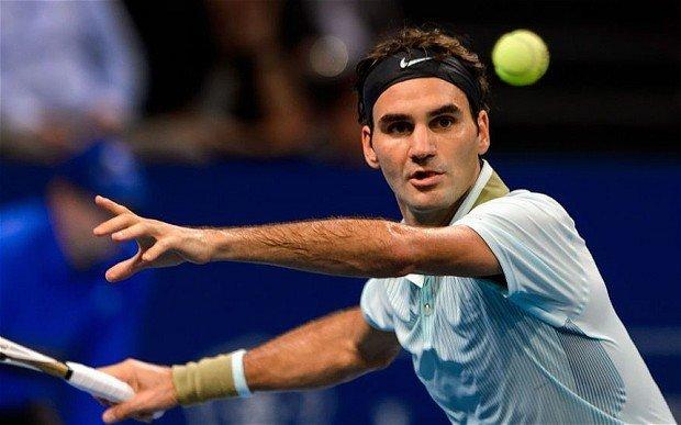 roger federer hits quarter finals 2015 rome masters open