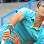 roger federer serving to pablo cuevas at instanbul open 2015