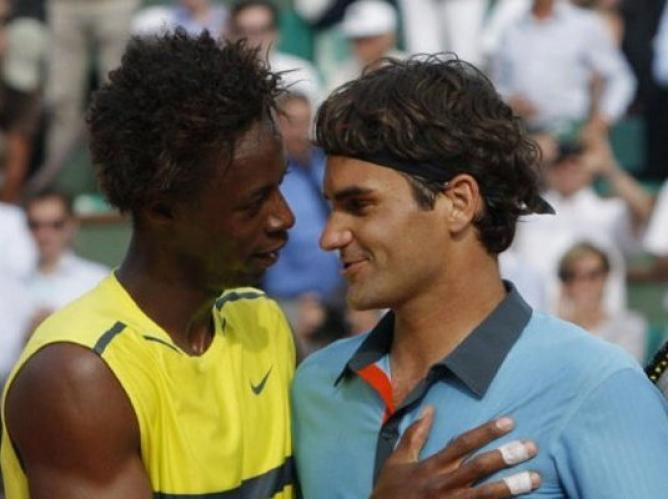 roger federer vs gael monfils 2015 french open