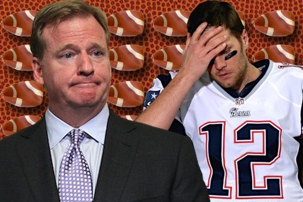roger goodell hearing appeal of tom brady on deflategate 2015