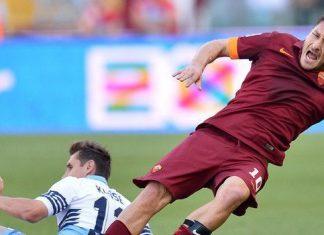 roma beats lazio serie a soccer 2015