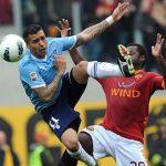 roma vs lazio for second spot serie a soccer 2015