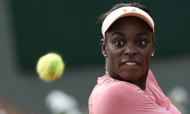 sloane stephens fourth round roland garros french open 2015