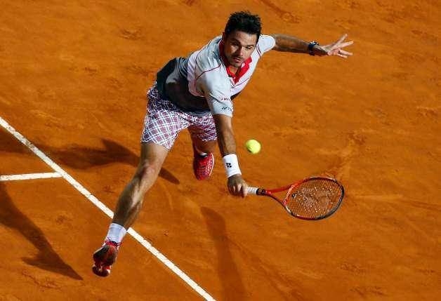 roger federer beats stan wawrinka 2015 rome open
