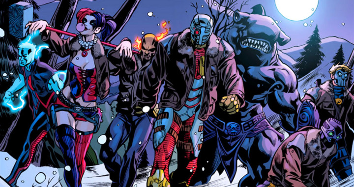 suicide squad characters from graphic novel 2015