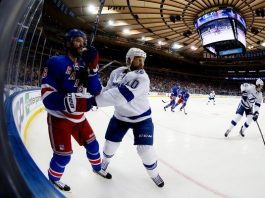 tampa bay lightning zap new york rangers again stanley cup playoffs 2015