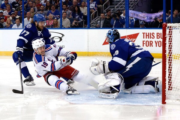 tampba bay lightning loss to new york rangers stanley cup playoffs 2015