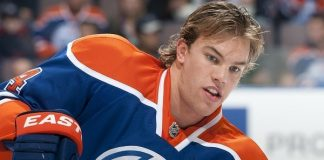 taylor hall bulge better for edmonton oilers 2015 stanley cup playoffs