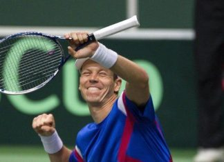 tomas berdych beats fabio fognini to face roger federer 2015 rome masters