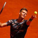 tomas berdych beats john isner for rafael nadal 2015 madrid open