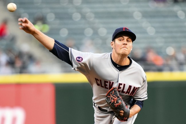 trevor bauer hot top man for indians american league mlb 2015