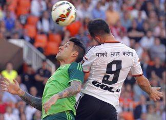 valencia draws with celta vigo la liga 2015