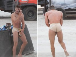 zac efron tight underwear for bad grandpa 2015