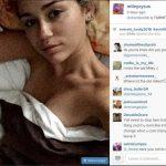 miley cyrus instagram sexy pose 2015 gossip
