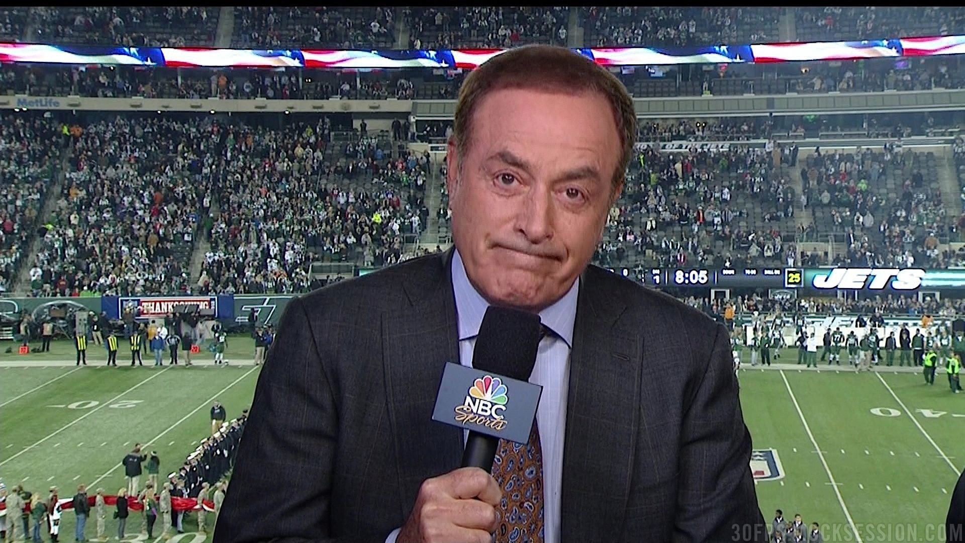 al michaels to replace roger goodell for tom brady 2015