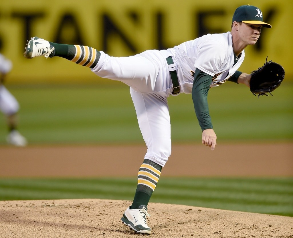 american league all star team sonny gray pitcher 2015 mlb
