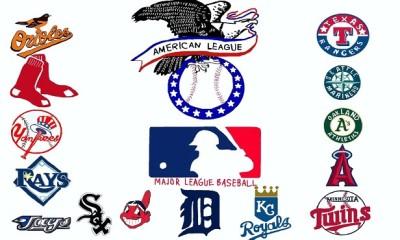 american league mlb baseball logo 2015
