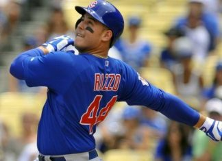 anthony rizzo winner american league week 9 mlb 2015 images