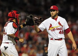 cardinals continue winning despite hack national league 2015