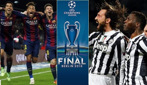 Champions League Final 2015 Barcelona vs Juventus