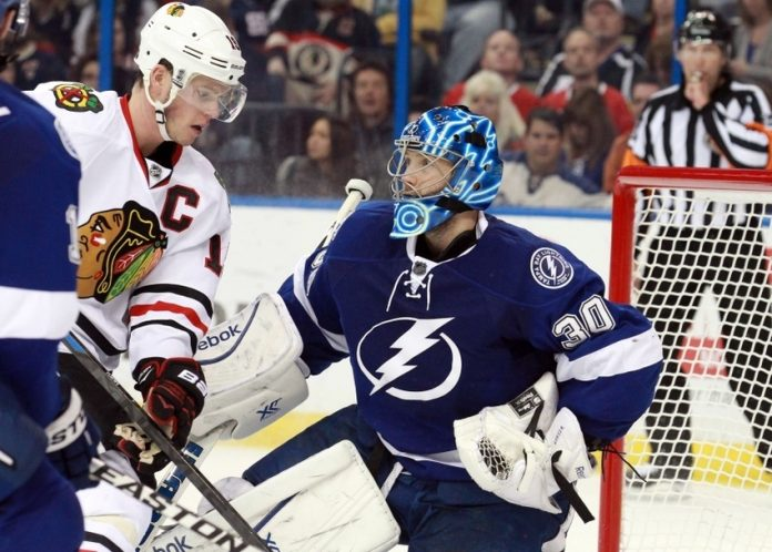 chicago blackhawks beat tampa bay lightning stanley cup finals 2015