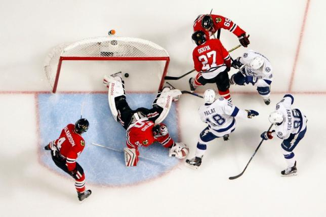 chicago blackhawks vs lightning 2015 stanley cup finals