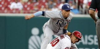 chris archer week 9 american league winner rays 2015 images
