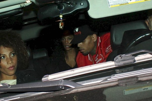 chris brown in karrueche tran suv unwanted 2015 gossip