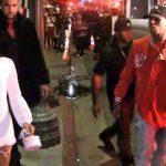 chris brown yelling at karrueche tran nightclub 2015 gossip