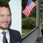 chris pratt bulge pledge of allegiance flag 2015 gossip