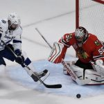 Corey Crawford Comes Alive For Chicago Blackhawks