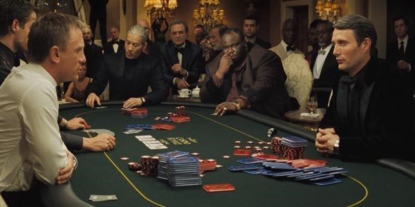casinos in the movie james bond evolution 2015