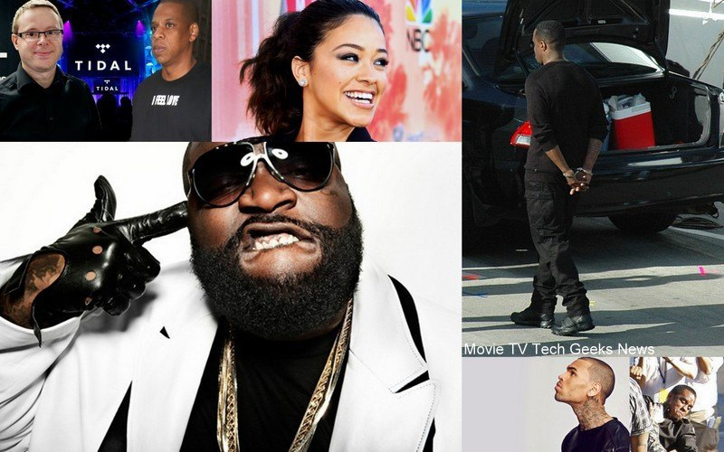 diddy arrest rick ross chris brown jay z tidal 2015 images