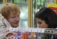 ed sheeran in grocery with selena gomez avoiding justin bieber 2015 gossip