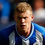 james mcclean with west bromich albion soccer 2015