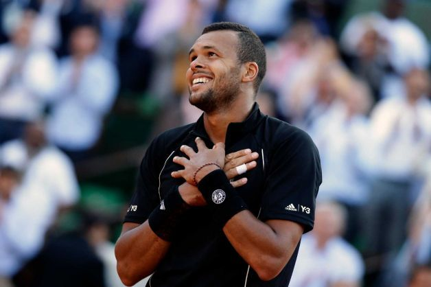 jo wilfried tsonga beats kei nishikori 2015 french open