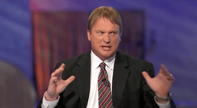 jon gruden replace roger goodell for tom brady 2015
