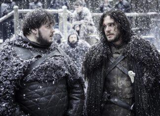 jon snow bringing home wildings game of thrones 2015 509