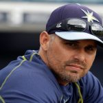 kevin cash rays american league manager of the year 2015 images