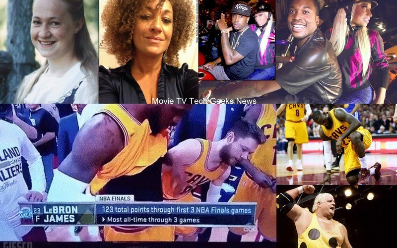 lebron james johnson nicki minaj naacp dusty rhodes 2015 celebrity