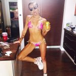 miley cyrus bikini shots 2015 gossip